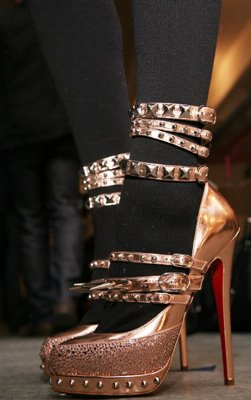 Rodarte Shoes SS09 designer By Christian Louboutin (image from www.harpersbazaar.com)